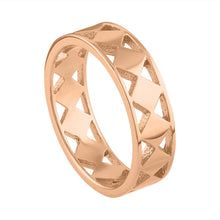 Cutout Geo Ring - Rose Gold