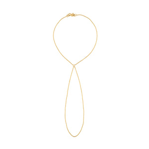 Classic Gold Hand Chain - Yellow Gold