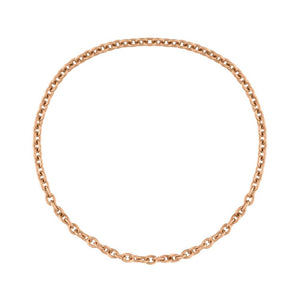 Classic Gold Chain Ring - Rose Gold