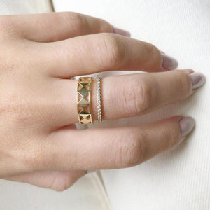 Cutout Geo Ring - Lifestyle Photo