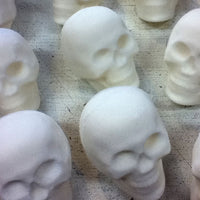 Sugar skull blanks can be made long before Day of the Dead