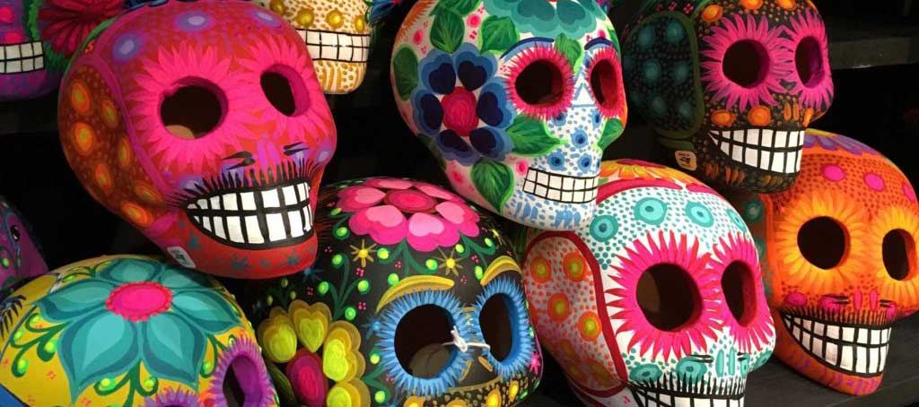 Day of the Dead Folk Art - Sugar Skulls