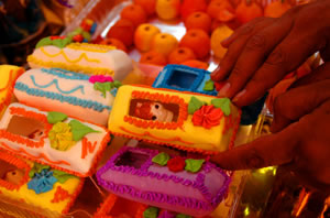 day of the dead sugar coffins