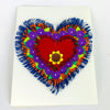 Fringed Heart Note cards