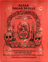 Altar Sugar Skull Mold - Small