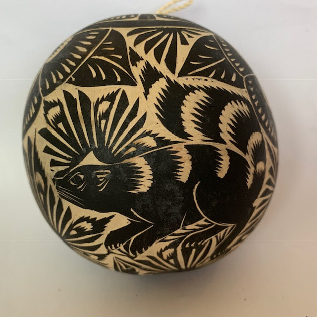 Animal Gourd Ornament