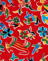 Mexican Oilcloth - Animales on Red