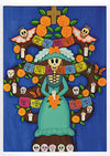 Day of the Dead Blank Notecards – Arbol de Muerte