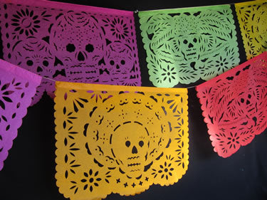 Day of the Dead Papel Picado Party Pack