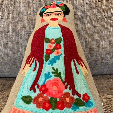 Frida Doll Pillow