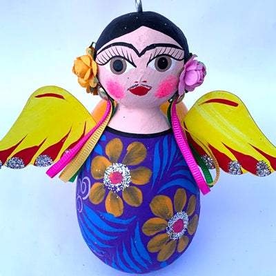 Frida Angel Ornament