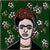Green Frida Mexican Tile