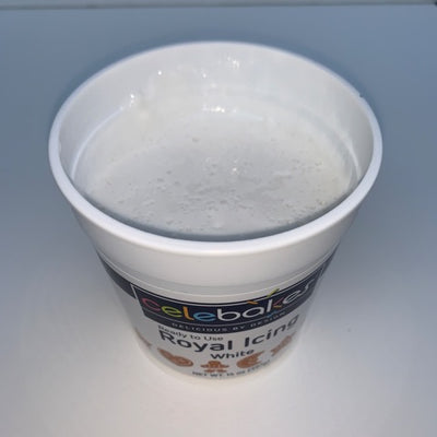 Royal Icing Tub - Ready to Use - 14 oz.