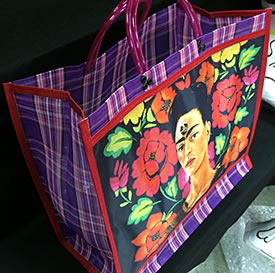 Juchitan Frida Mesh Market Bag