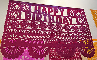 Large Birthday Sizzle Banner