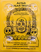 Altar Sugar Skull Mold - Medium