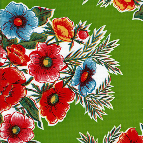Mexican Oilcloth - Savannah Lime