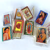 Mexican folk art match boxes