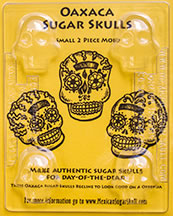 Oaxaca Sugar Skull Mold- Small