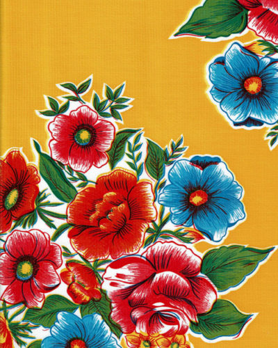 Mexican Oilcloth - Savannah Yellow