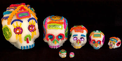 Traditional Mexican Sugar Skull #3