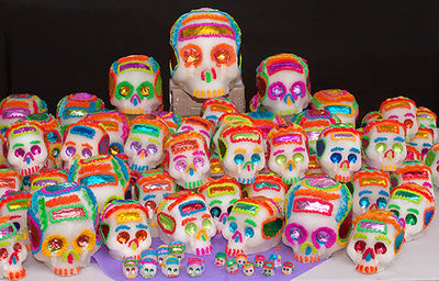 Traditional Mexican Sugar Skull #7