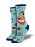Women's Viva La Frida Socks – Sky Blue