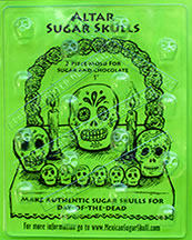 Altar Sugar Skull Mold - Mini