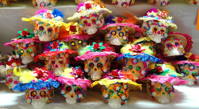 Decorated Catrina Sugar Skull