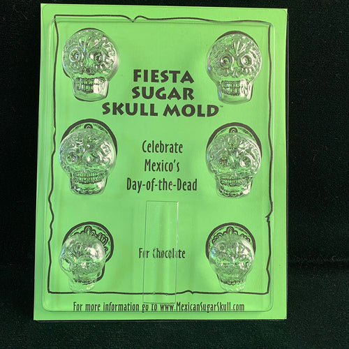 Fiesta Chocolate Skull Mold