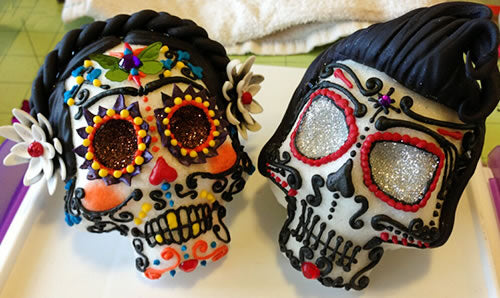 Oaxaca XL sugar skull mold