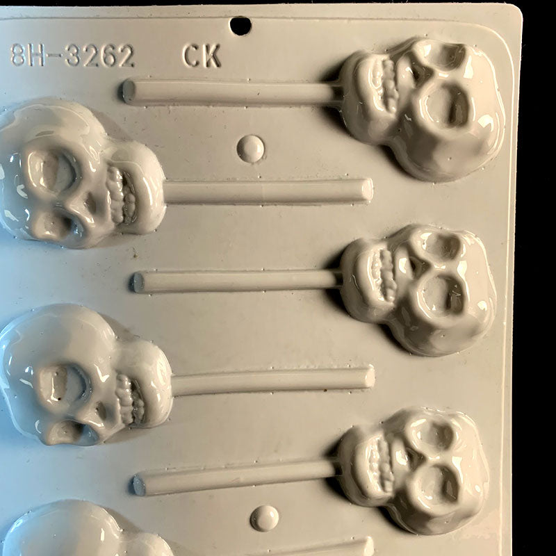 Hard Candy Skull Lollipop Mold