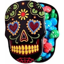 Sugar Skull Candy Tins – Set of 3