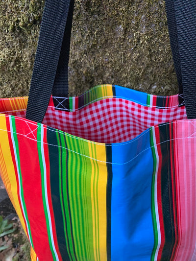 Saltillo Serape Stripe Tote Bag