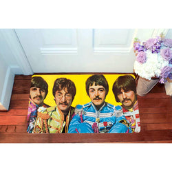 Framed The Beatles Sgt Peppers Lonely Hearts Doormats