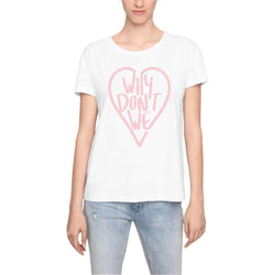 Why Don't We Heart Women's T-Shirts