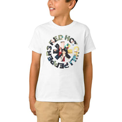 Red Hot Chili Peppers Circle Asterisk Youth T-Shirts