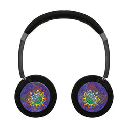 Grateful Dead Something Different Wireless Lightweight Long-Cord Headphones