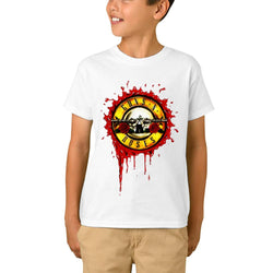 Guns N Roses Logo Blood Youth T-Shirts