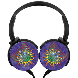 Grateful Dead Just Album Wireless Lightweight Long-Cord Headphones