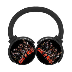 Guns N Roses Group Bluetooth Headphones