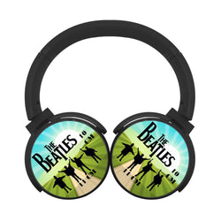 The Beatles Membros Old Rock Adesivo Logo Bluetooth Headphones