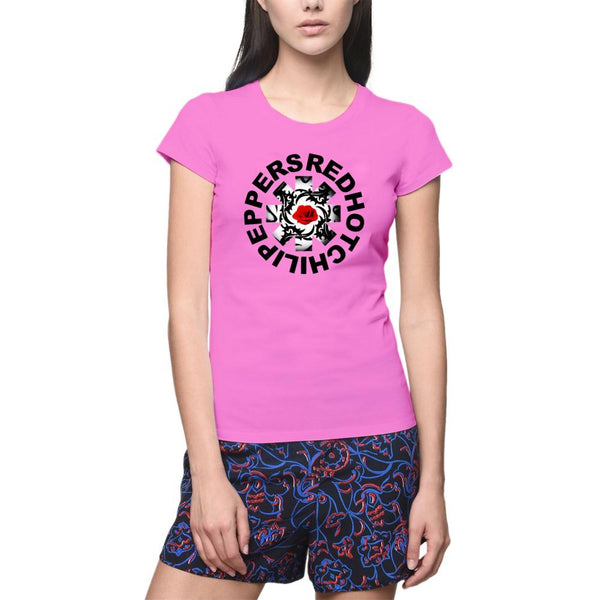 Print Red Hot Chili Peppers Women s T-Shirt - Pozapo b55c0dfcfbb5
