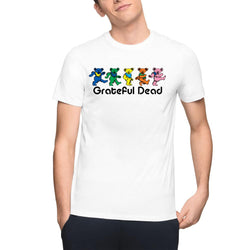 Grateful Dead Spiral Bears Men's T-Shirts