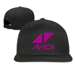 Avicii Traingles Logo Tim Bergling Adjustable Hat Flat Bill Baseball Cap