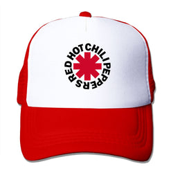 Red Hot Chili Peppers Asterisk Logo Mesh Cap