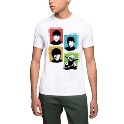 The Beatles Yoda Star Wars Men's T-Shirt