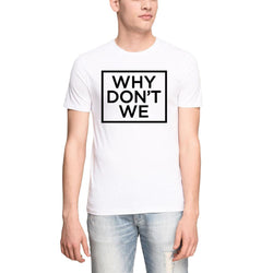 Why Dont We Box Logo Men's T-shirts