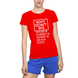 WHY DON'T WE White Logo Women's T-Shirts