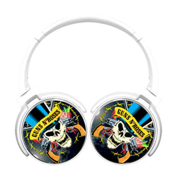 Guns N Roses Skull Hat Bluetooth Headphones